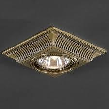 Точечный <b>светильник Reccagni Angelo SPOT</b> 1084 BRONZO ...