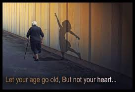 Age Quotes - Let your age go old