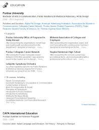 Educational Resume  Academic Cv Example Teacher Professor  Black