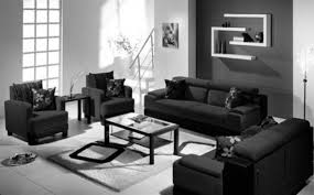 black and white living room tjihome contemporary black and white living room all black furniture