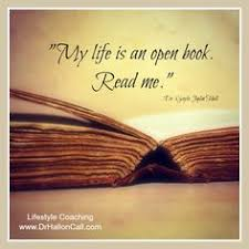 Image result for images of lives that are like open books