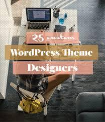 25 Custom WordPress Theme Designers - A Prettier Web
