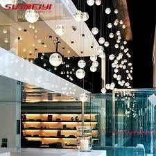 SUNMEIYI Official Store - <b>LED Pendant</b> Stair <b>Lights</b> Loft Coffee ...