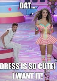 Justin Bieber Meme | Justin-Bieber meme victoria secret fashion ... via Relatably.com