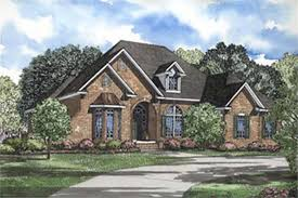 Traditional  French  European House Plans   Home Design Cherry         middot  Main image for house plan