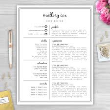 unique resume template related items   etsyresume icons  resume design  resume template word  resume cover letter  resume template