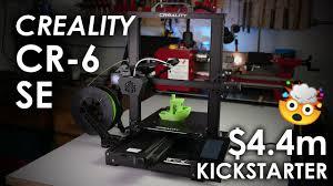 <b>Creality</b> CR-6 SE - The <b>NEW</b> (over)hyped Kickstarter <b>3D printer</b> ...