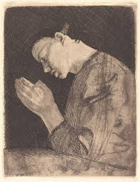 Betendes Mädchen (<b>Girl Praying</b>)