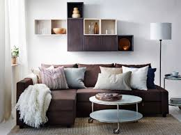 best ikea furniture for small home space design featured brown friheten sofa bed with chaise and best ikea furniture