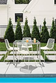 braided modern outdoor dining chair gk