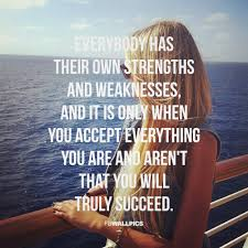 strengths and weaknesses girly quote facebook wall pic strengths and weaknesses girly quote