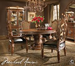 Round Dining Room Furniture Big Round Dining Room Table Paula Deen Round Dining Table Round