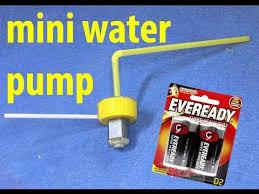 Micro Submersible <b>Mini</b> Water Pump <b>DC 3</b>-<b>6V</b> Testing - YouTube