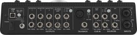 USB <b>аудио интерфейс Mackie Big Knob</b> Studio+