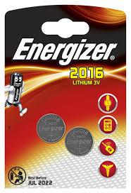 "<b>Батарейка Energizer</b> ""<b>Lithium</b>"", тип <b>CR2016</b>, 3V, 2 шт — купить в ..."