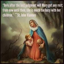 Image result for st john vianney - mary
