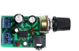 <b>LM386 Mini</b> Audio Power Amplifier AMP Board <b>DC 3V</b>~12V 5V ...