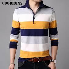 <b>COODRONY T Shirt Men</b> Clothes 2018 Autumn Long Sleeve T Shirt ...