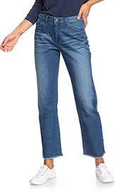 Синие женские <b>джинсы Roxy</b> в интернет-магазине