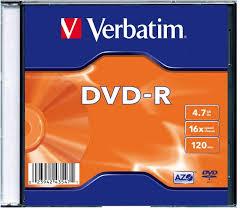 Купить <b>Verbatim DVD</b>-<b>R</b> 4.7Gb <b>16x</b> Slim case, 1шт в Москве: цена ...