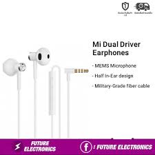 Xiaomi <b>Mi Dual Driver</b> Earphones (half in-ear earphone) ประกันศูนย์ ...