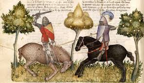 manuscript miniatures bnf fran ccedil ais queste del saint graal bnf franccedilais 343 queste del saint graal tristan de leacuteonois