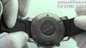 <b>Мужские</b> наручные <b>часы TW</b> STEEL TW73 - YouTube
