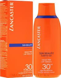 <b>Нежное молочко</b> для тела - <b>Lancaster</b> Sun Beauty Velvet Milk ...