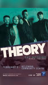 <b>Theory of a Deadman</b> | Kelowna Community Theatre