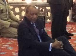 aprs le gnral lansana cont qui aimait vivre au milieu de ses compatriotes ici en guine et qui naimait pas gaspiller les maigres ressources du pays apras le discours de celle qui
