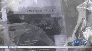 kkk recruitment flyers found in another south suburb com kkk flyers found in 2 chicago suburbs