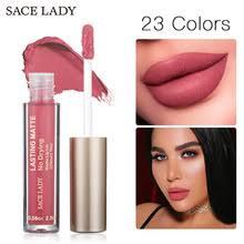 Бренд SACE LADY, 23 Цвета, <b>жидкая губная</b> помада, макияж, не ...