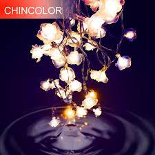 <b>Love Rose LED String</b> Lighting 10 20leds nightlight 9 Colors ...