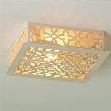 bathroom flush ceiling light design