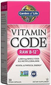 Garden of Life Vitamin B12 - Vitamin Code Raw B12 ... - Amazon.com