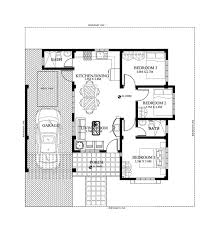 Bungalow house designs series  PHP    Pinoy House PlansPinoy House Plan PHP   floor plan