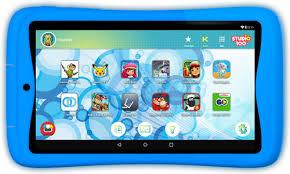 Kurio Tab Connect Studio 100 <b>7 inches</b> 16GB <b>WiFi</b> Blue - Coolblue ...