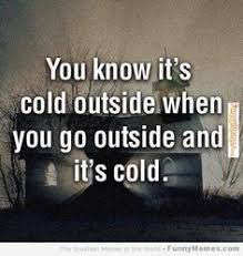 Image result for cold weather meme