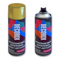 Аэрозольная <b>краска</b> Decorix — купить на Яндекс.Маркете