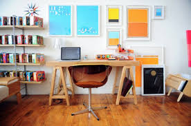 decoration alluring wooden desk office ideas and fashionable woodn chair ideas plus impressive wall shelves alluring office decor ideas
