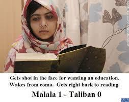 「Malala Yousafzai shut」の画像検索結果
