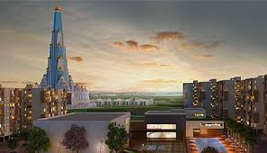 Best World's tallest Temple Vrindavan Pictures for free download