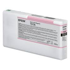 <b>Epson T9136</b> - <b>vivid</b> light magenta - original - ink cartridge