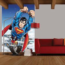 new 1 wall mural marvel dc comics batman batman superman iron man 2