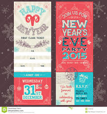 christmas eve party invitation stock vector image  new year s eve party invitation ticket stock photo