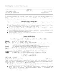 b b sample resume summsry of  seangarrette cob b