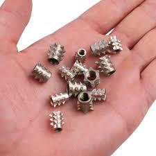 M5 Furniture nut znic <b>alloy</b> steel nut Thorn nut wood embedded ...