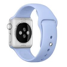 Apple <b>watch band</b>, Lilac Decouart <b>Soft Silicone</b> Replacement Sport ...