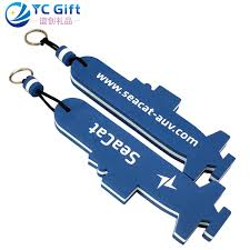 China Custom Promotional Gift Aircraft <b>Floating</b> EVA <b>Foam</b> Keyfob ...