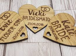 <b>Bride and Groom</b> Wedding Hanger Custom Heart <b>Wooden</b> Named ...